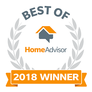 Best of HomeAdvisor - 2018 Winner