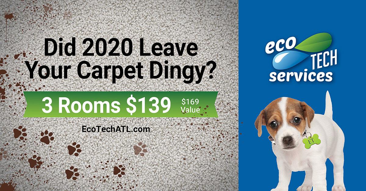 Is your carpet dingy?